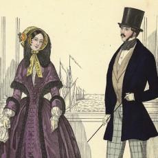Pariser Moden 1847