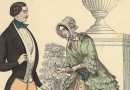 Handsome Biedermeier Couple – Gentleman in Yellow Pantalon and Green Ascot