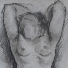 Gustave Francois Barraud - Nude