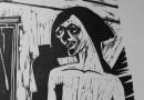 Hermann Scherer – Female Nude – Woodcut