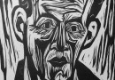 Hermann Scherer – Portrait – Woodcut
