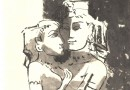 Hermann Alfred Sigg – Lovers Embracing – Original Etching