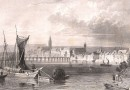 View of Basel – Antique Engraving by Tombleson Circa 1835