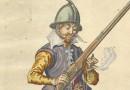 De Gheyn – Soldier With an Arquebus – 17th Century Engraving
