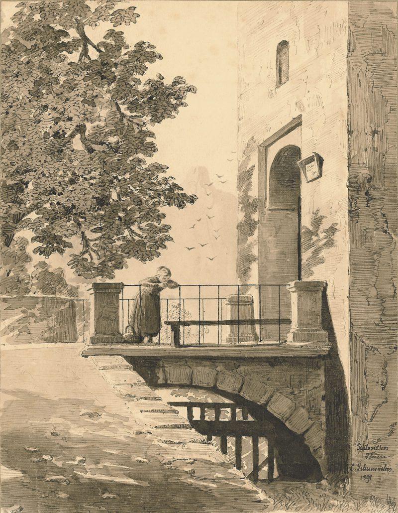 Cecilia Schumacher - Girl on a Bridge