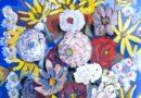 Vincent Vincent – Bright Floral Bouquet – Gouache