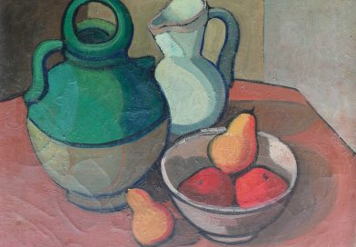 Georges Legeret – Still Life with Pears Dated 1955