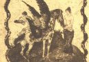 Albert Welti – Waldfest Forsthaus Adlisberg – Original Engraving
