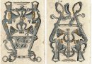 Renaissance Horse Bit Mouthpieces – Single Sheet with Two Illustrations