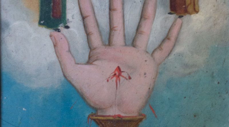 Hand of God Retablo