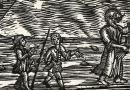 Fantastic Voyage – Medieval Style Woodlock with Three Masted Sailing Ship