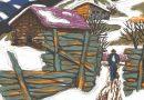 Fred Stauffer – Original Lithograph – Winter Scene (SOLD)