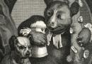 """William Hogarth – """"The Bruiser"""" Antique Engraving"""