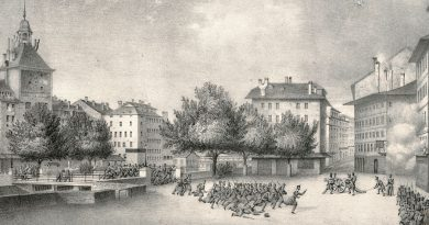 The Geneva Revolution of 7-8 October 1846 Place Bel-Air