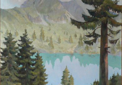 Erich Kaatz – Alpine Landscape