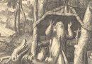 St. Arnulf of Metz as a Hermit – Raphael Sadeler after Marten de Vos