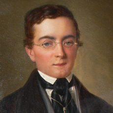 Portrait of Jean Paul Henri Rigot by D'Albert-Durade