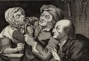 The Country Tooth Drawer – Antique Dentistry Caricature Engraving