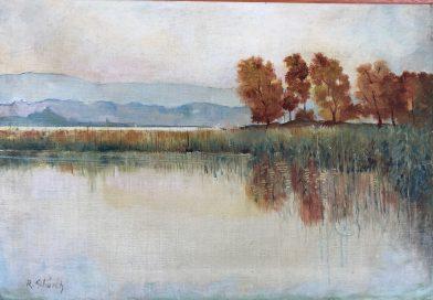 Lakeshore Landscape Signed R. Schürch