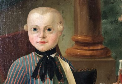 18th Century Memorial Portrait of a Boy Named Werner Wagner