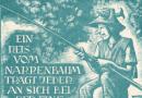 Happy Fishermen and Fools – Woodblock Print by Fritz Urban Welti