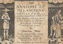 The Anatomy of Melancholy – Original 17th Century Frontispiece Engraving
